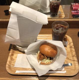 ハンバーガーの写真・画像素材[474432]