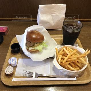 ハンバーガーの写真・画像素材[532040]