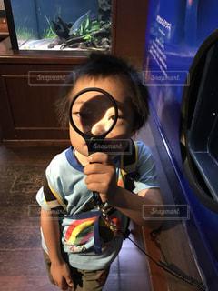 虫眼鏡の写真・画像素材[765404]