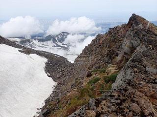 雪山の写真・画像素材[602456]