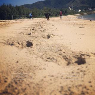 砂浜トレーニングの写真・画像素材[1030046]