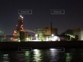 四日市工場夜景クルーズの写真・画像素材[2127070]