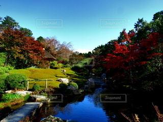 日本庭園の写真・画像素材[2745126]