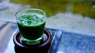 京都鍵善の冷やし抹茶で一休みの写真・画像素材[737973]