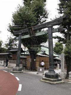 神社の写真・画像素材[608188]