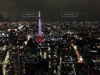 東京タワーの写真・画像素材[502222]