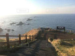 朝の襟裳岬の写真・画像素材[3150063]