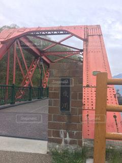 支笏湖の鉄橋の写真・画像素材[3213405]