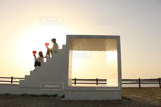 夕日の写真・画像素材[477929]