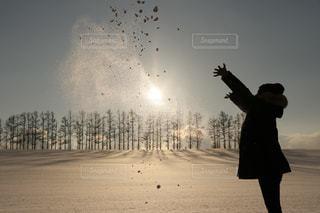 雪遊びの写真・画像素材[977746]