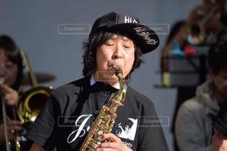 #野外LIVE#サックス演奏#ビッグバンドの写真・画像素材[478274]