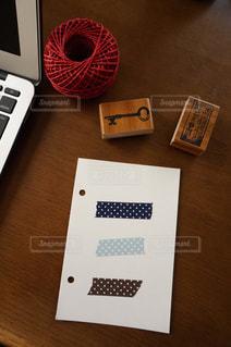 マスキングテープと雑貨たちの写真・画像素材[485598]