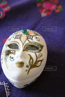 ヴェネチア仮装祭のお面の写真・画像素材[737054]
