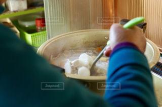 豚汁を作るの写真・画像素材[1035984]