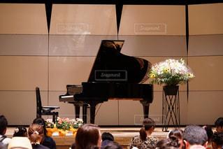 ピアノの発表会の写真・画像素材[1363896]
