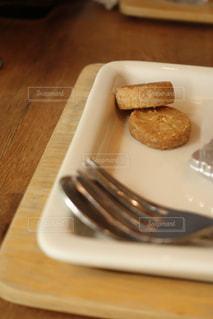 小さな焼き菓子の写真・画像素材[1396347]