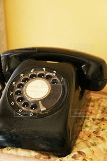 黒電話の写真・画像素材[1581157]