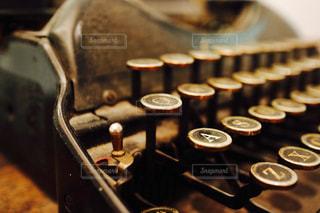 タイプライターの写真・画像素材[1616844]