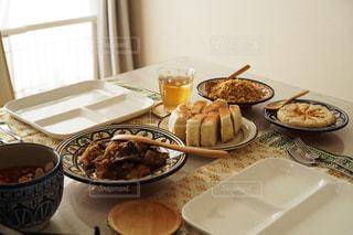 モロッコ料理のランチの写真・画像素材[1668840]