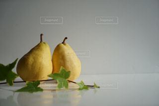 2つのルレクチェの写真・画像素材[1677949]