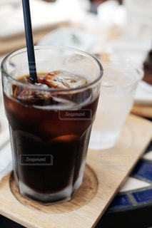 アイスコーヒーの写真・画像素材[2218706]