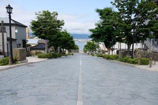 八幡坂の写真・画像素材[2327974]