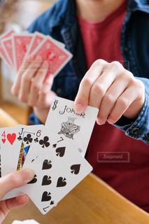 カードゲームの写真・画像素材[3189334]
