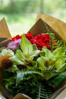 シックな花束の写真・画像素材[3431578]