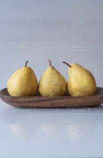 3つのルレクチェの写真・画像素材[3958502]