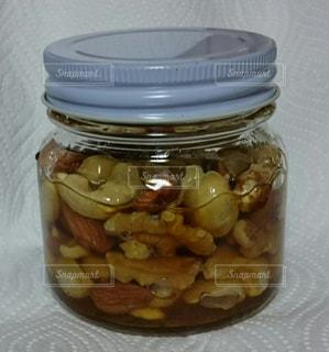 蜂蜜ナッツの写真・画像素材[479733]