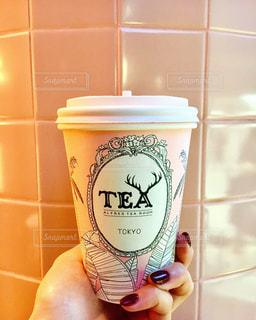 一杯のコーヒーの写真・画像素材[1029491]