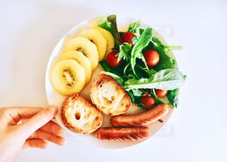 食品のプレートの写真・画像素材[1310427]