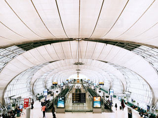 タイの空港の写真・画像素材[1613930]