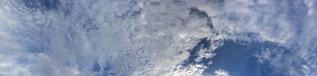雲のカーテンの写真・画像素材[675520]