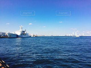 横浜の海の写真・画像素材[480397]