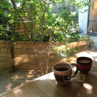 カフェの写真・画像素材[480876]