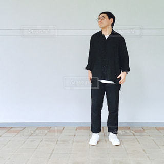 スーツの場合身に着けている男の写真・画像素材[735832]