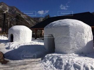 自然,風景,冬,雪,かまくら