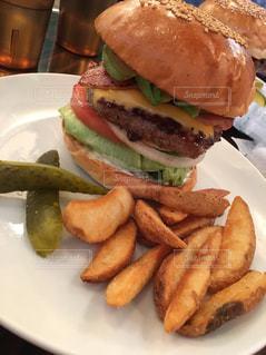 ハンバーガーの写真・画像素材[481263]