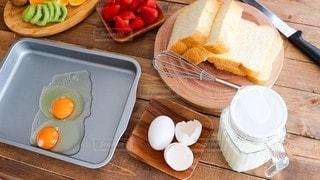 朝食の準備の写真・画像素材[3038308]