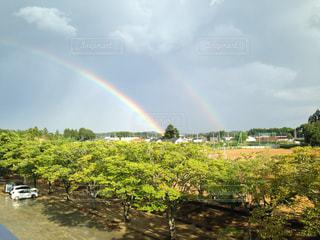 奇跡の虹の写真・画像素材[481877]