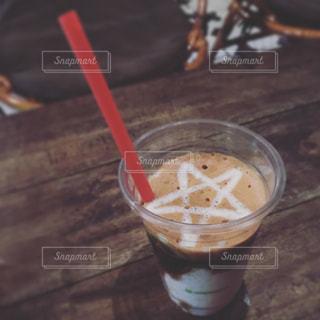 ヨーグルトコーヒーの写真・画像素材[535959]