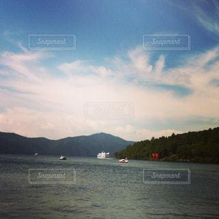 湖の写真・画像素材[487903]