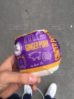 ハンバーガーの写真・画像素材[485817]