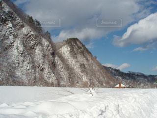 2011年の大雪の写真・画像素材[1789444]