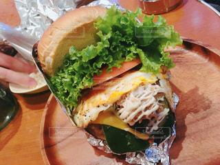 ハンバーガーの写真・画像素材[681763]