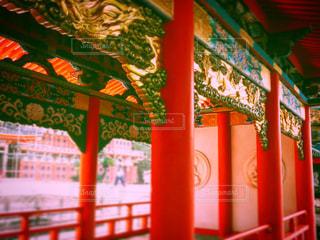 お寺の装飾の写真・画像素材[771743]