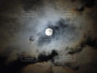 満月の夜の写真・画像素材[855892]