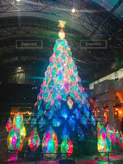 クリスマスツリーの写真・画像素材[933097]
