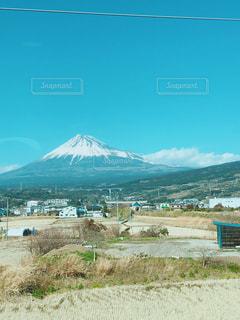車内からの風景の写真・画像素材[1198792]